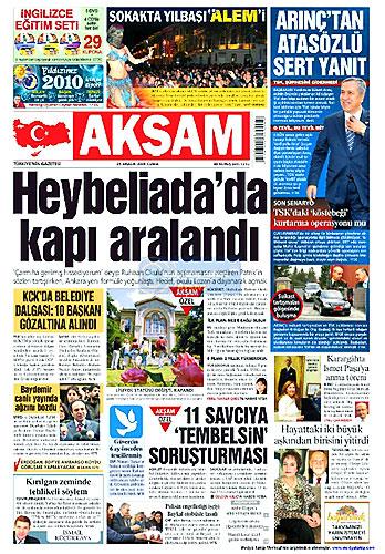 Gazete Manşetleri (25 Aralık) galerisi resim 6