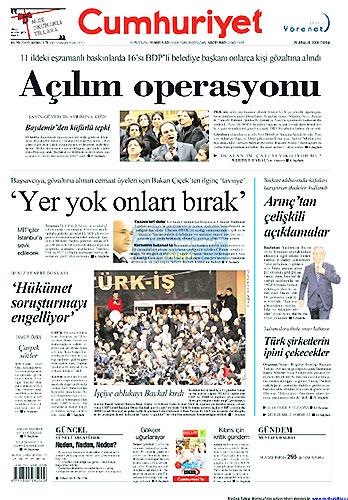 Gazete Manşetleri (25 Aralık) galerisi resim 7