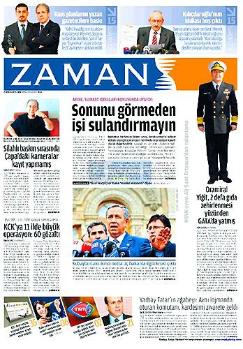 Gazete Manşetleri (25 Aralık) galerisi resim 8