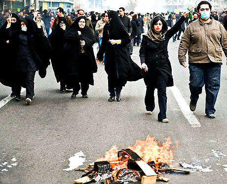 İran yine kırmızı: Gösteriler durmuyor! galerisi resim 24