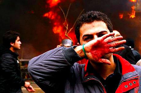 İran yine kırmızı: Gösteriler durmuyor! galerisi resim 33