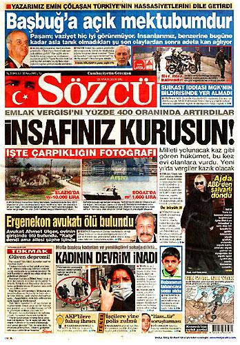 Hangi gazete bugün ne manşet attı? galerisi resim 12