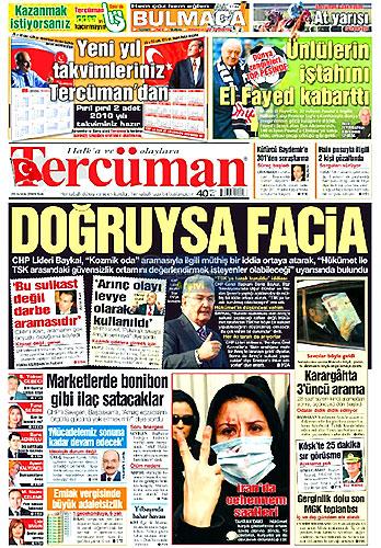 Hangi gazete bugün ne manşet attı? galerisi resim 15