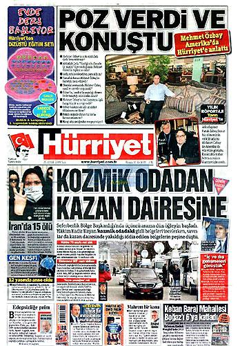Hangi gazete bugün ne manşet attı? galerisi resim 2
