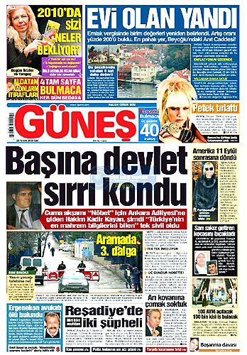 Hangi gazete bugün ne manşet attı? galerisi resim 25