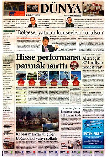 Hangi gazete bugün ne manşet attı? galerisi resim 26