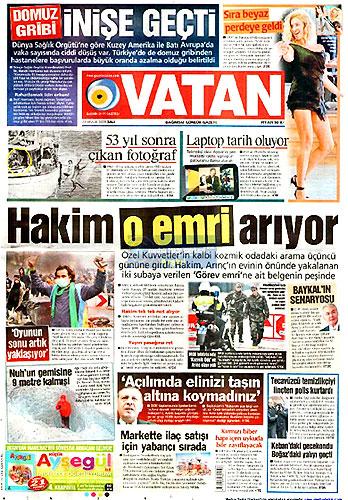 Hangi gazete bugün ne manşet attı? galerisi resim 3