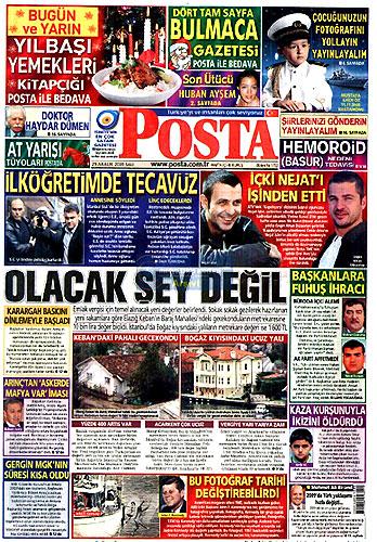 Hangi gazete bugün ne manşet attı? galerisi resim 6