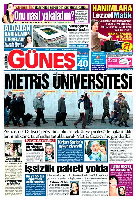 2009'un en iyi 10 gazete manşeti galerisi resim 4
