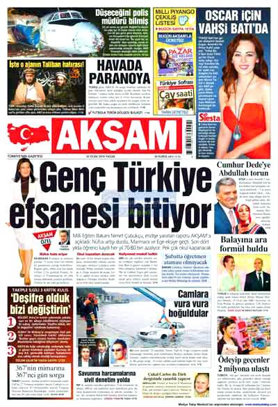 Hangi gazete neyi manşete çekti? galerisi resim 1