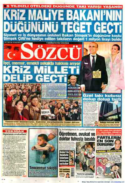 Hangi gazete neyi manşete çekti? galerisi resim 14