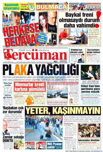 Hangi gazete neyi manşete çekti? galerisi resim 17