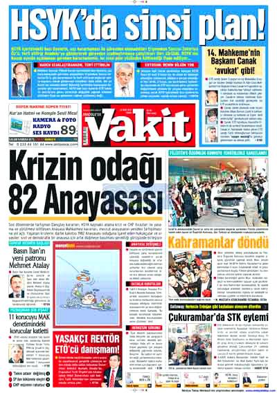Hangi gazete neyi manşete çekti? galerisi resim 19