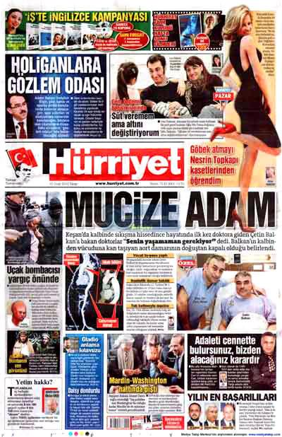 Hangi gazete neyi manşete çekti? galerisi resim 8