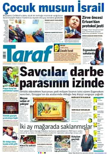 İsrail için öyle manşetler atıldı ki... galerisi resim 10