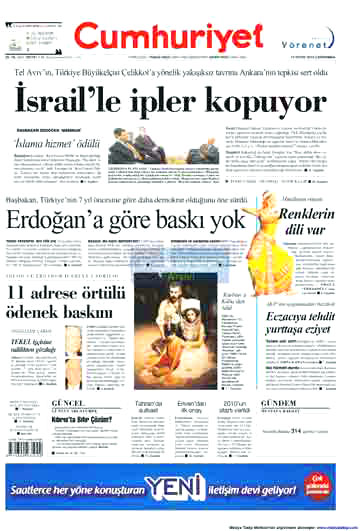 İsrail için öyle manşetler atıldı ki... galerisi resim 13