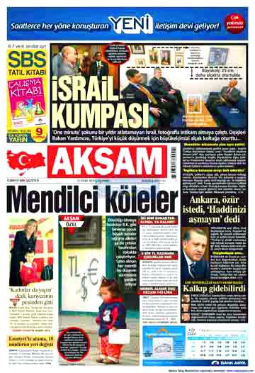 İsrail için öyle manşetler atıldı ki... galerisi resim 19