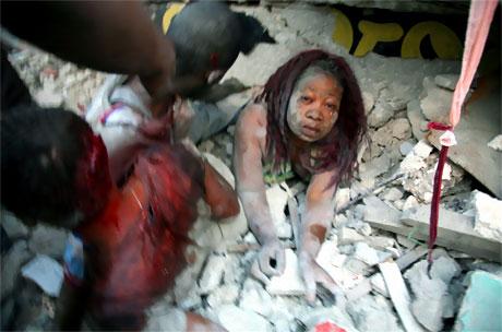 Haiti'de ölü sayısı 100 binleri bulabilir! galerisi resim 10