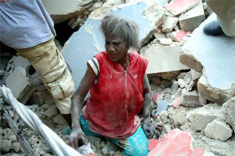 Haiti'de ölü sayısı 100 binleri bulabilir! galerisi resim 9