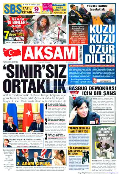 Türk basınında özür manşetleri! galerisi resim 1