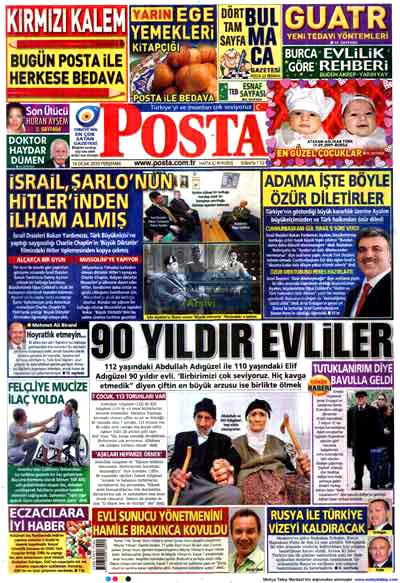 Türk basınında özür manşetleri! galerisi resim 12