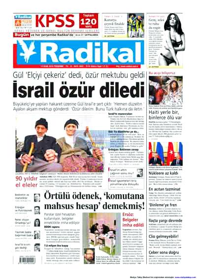 Türk basınında özür manşetleri! galerisi resim 13