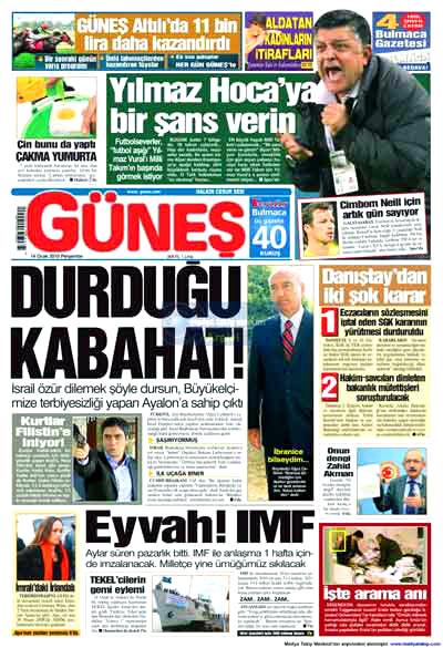 Türk basınında özür manşetleri! galerisi resim 7