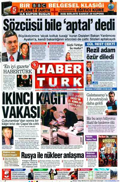 Türk basınında özür manşetleri! galerisi resim 8