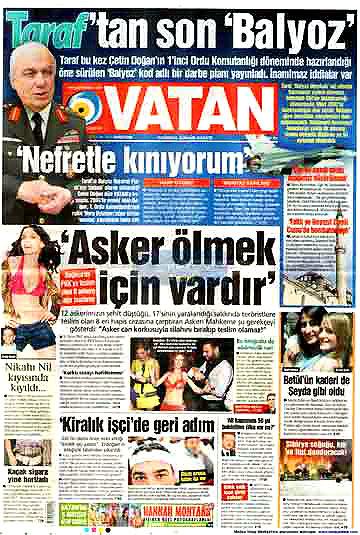 Darbeyi görmeyen tek gazete! galerisi resim 8