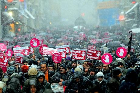 Yurt genelinden darbe karşıtı gösteriler galerisi resim 1