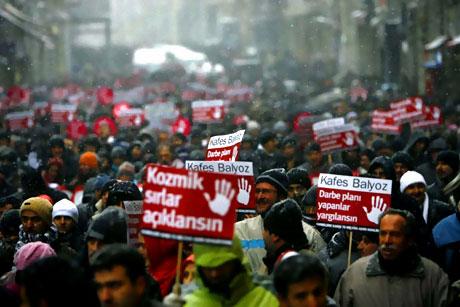 Yurt genelinden darbe karşıtı gösteriler galerisi resim 22