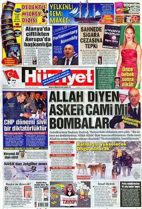 Gazetelerin 'Allah Allah' manşetleri galerisi resim 12