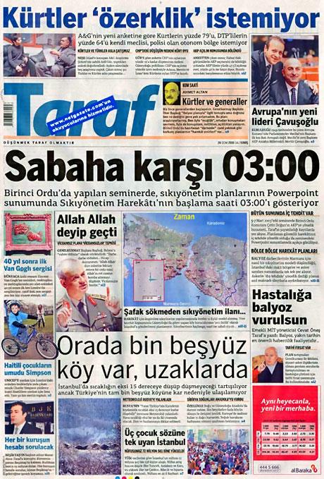 Gazetelerin 'Allah Allah' manşetleri galerisi resim 14