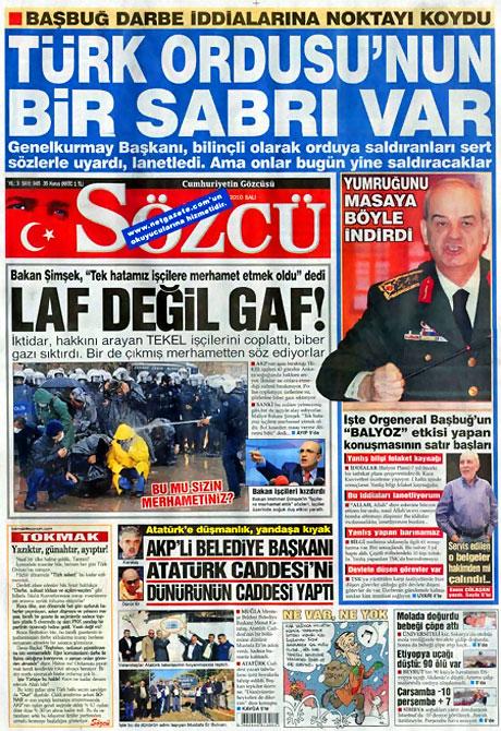 Gazetelerin 'Allah Allah' manşetleri galerisi resim 18