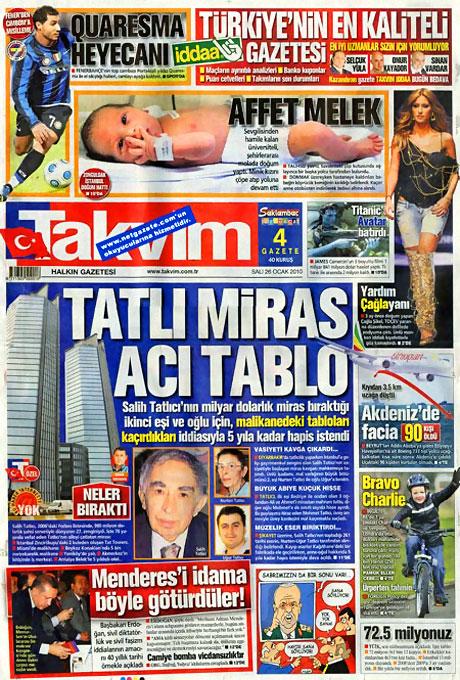 Gazetelerin 'Allah Allah' manşetleri galerisi resim 23