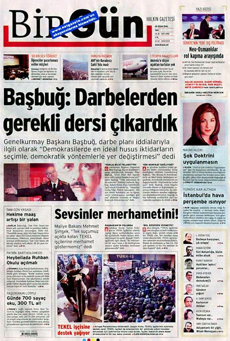 Gazetelerin 'Allah Allah' manşetleri galerisi resim 25