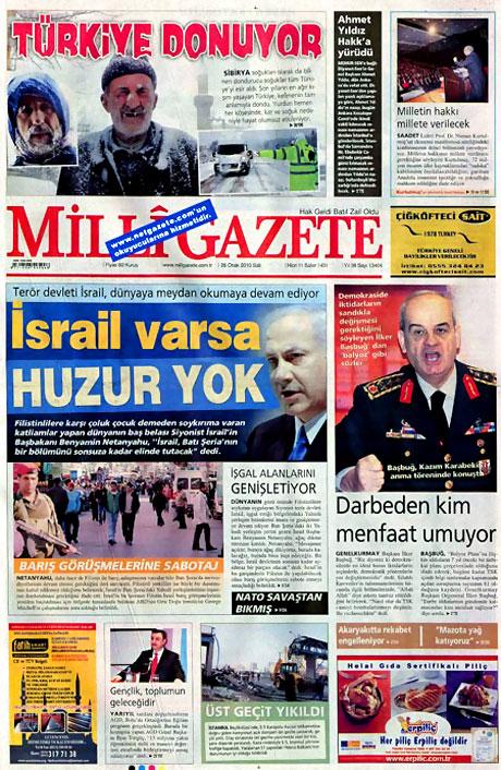 Gazetelerin 'Allah Allah' manşetleri galerisi resim 26