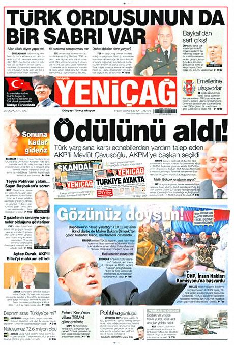 Gazetelerin 'Allah Allah' manşetleri galerisi resim 3