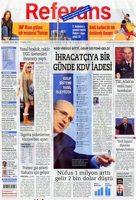 Gazetelerin 'Allah Allah' manşetleri galerisi resim 4