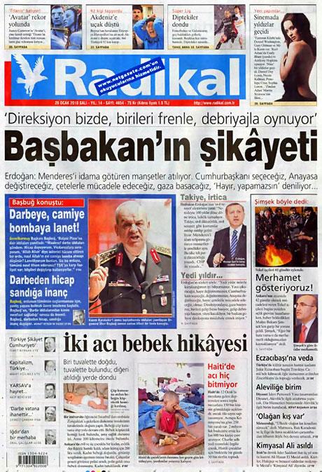 Gazetelerin 'Allah Allah' manşetleri galerisi resim 5