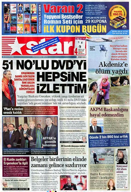 Gazetelerin 'Allah Allah' manşetleri galerisi resim 9