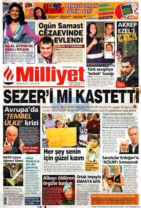 Cübbeliyi manşete hangi gazete çekti? galerisi resim 11