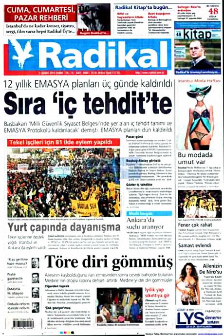 Cübbeliyi manşete hangi gazete çekti? galerisi resim 13
