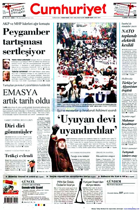 Cübbeliyi manşete hangi gazete çekti? galerisi resim 4