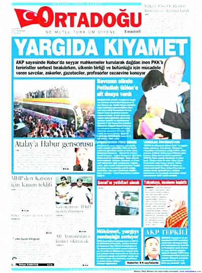 Yargı darbesi gazete manşetlerinde! galerisi resim 10
