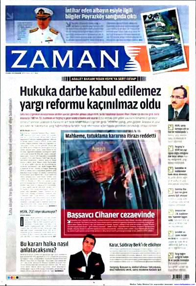Yargı darbesi gazete manşetlerinde! galerisi resim 18