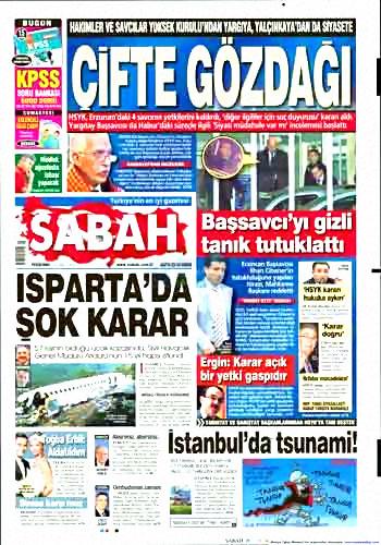 Yargı darbesi gazete manşetlerinde! galerisi resim 19