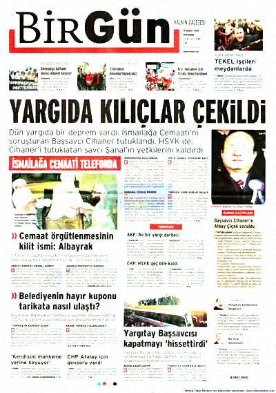 Yargı darbesi gazete manşetlerinde! galerisi resim 2