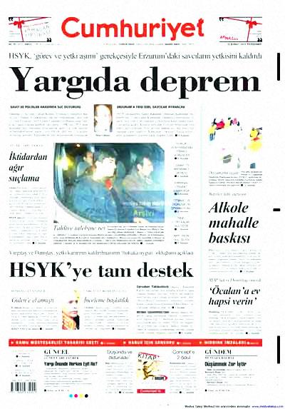 Yargı darbesi gazete manşetlerinde! galerisi resim 4