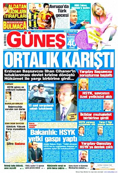 Yargı darbesi gazete manşetlerinde! galerisi resim 7